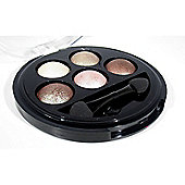 Make Up Revolution Baked Eyeshadow 5 Shades 4g - Pure and Innocent