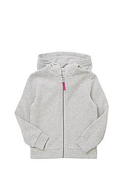 F&F Zip-Through Hoodie - Grey marl