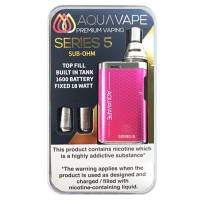 Series 5 Starter Kit (Sub Ohm) - Pink