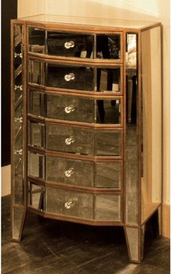 Alterton Furniture Opera Mirrored 6 Drawer Chest