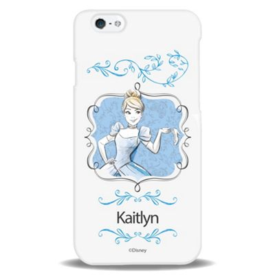 Disney Princess Personalised Water Colour iPhone 6 case