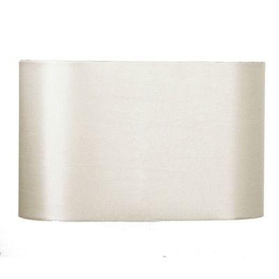 35cm Taupe Oval Polysilk Shade