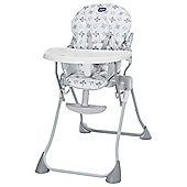 Chicco Pocket Meal Highchair, Light Grey