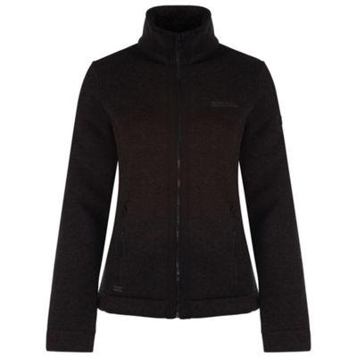 Regatta Ranita Faux Fur Lined Fleece 12 Black