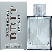 Burberry Brit Splash Eau de Toilette (EDT) 50ml Spray For Men