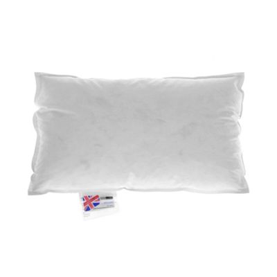 Homescapes Duck Feather & Down Cushion Pad Insert - 12 x 20 Inches