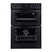 ZANUSSI-ZOD35712BK Built-In Double Oven with LED Display and Set and Go Function