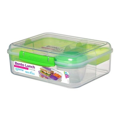 Sistema Bento Lunch To Go, Lime Green