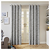Tesco Florence Curtains -  - 66x54 - Grey