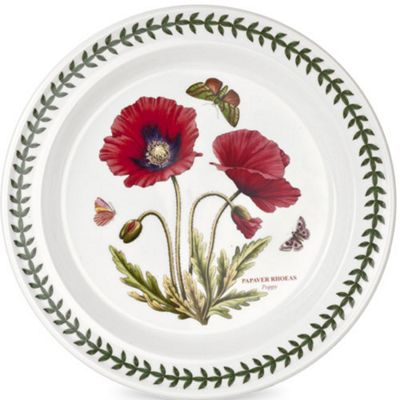 Portmeirion Botanic Garden Poppy Plate 26.5 cm