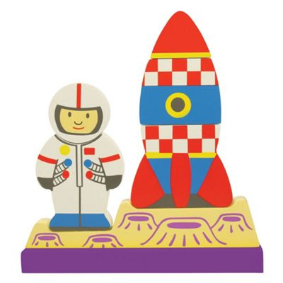 Bigjigs Toys Vertical Magnetic Puzzle Space