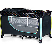 Hauck Sleep n Play Centre 2 Travel Cot (Multi Dots Navy)