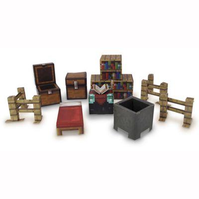 Minecraft 30 Piece Utility Paper Craft Pack