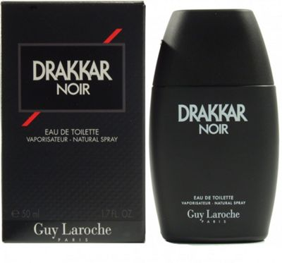 Guy Laroche Drakkar Noir Eau de Toilette (EDT) 50ml Spray For Men