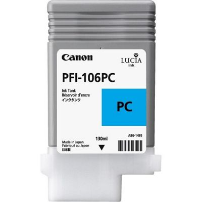Canon Lucia EX PFI-106PC Ink Cartridge 6625B001AA