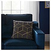 Fox & Ivy Geo Embroidery Cushion