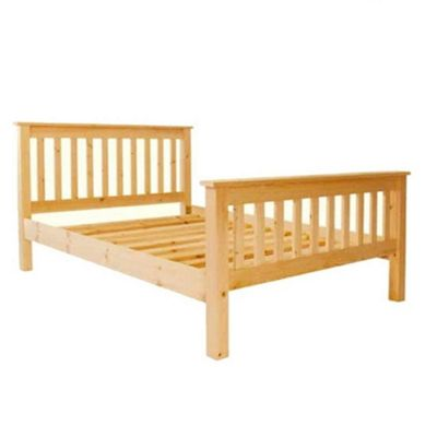 Single Premier Slatted Pine High End Bed - 3ft