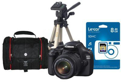 Canon EOS 1100D Lens Kit, 12.2 MP. 2.7