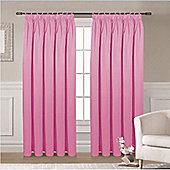 Ripon Thermal Blackout Curtains 66 x 72 - Pink