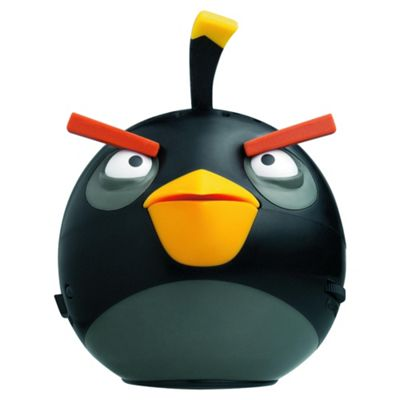 Gear 4 Angry Birds Mini Black Bird  Speaker
