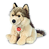 Teddy Hermann 29cm Wolf Plush Soft Toy