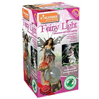 Kingfisher SLFAIRY2 Medium Solar Fairy Garden Light Decoration - Multi-Colour