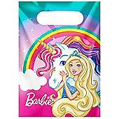 Barbie Dreamtopia Party Bags - Plastic Loot Bags