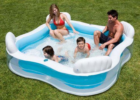 John Adams. Intex - Swim Centre Family Lounge Pool.