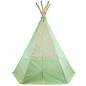 Apple Mist Teepee Wigwam Play Tent Children's Tipi Green