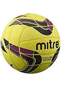 Mitre Cyclone Indoor Ball - Yellow