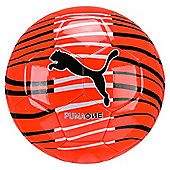 Puma One Wave Football Soccer Ball Orange - Size 5