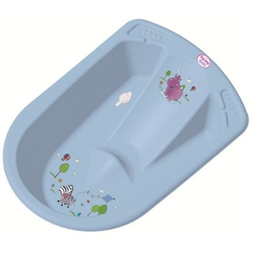 Hippo Anatomic Baby Bath Blue