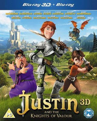 Justin And The Knights Of Valour Blu Ray
