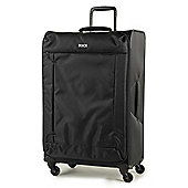 Rock Astro Lightweight 4 Wheel Black Large Suitcase