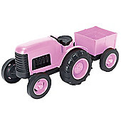 Green Toys Tractor Pink LIMITED EDITION