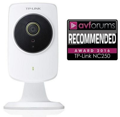 TP-LINK NC 250 HD Day/Night 300Mbps Wi-Fi Cloud Camera