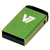 V7 8GB USB Nano Memory Stick - Green