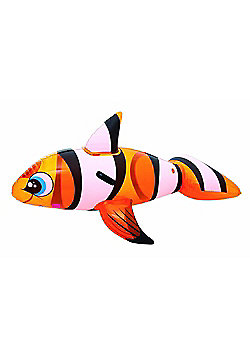 Bestway 63-inches Clown Fish Ride-on