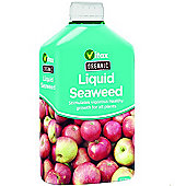 Vitax Organic Liquid Seaweed Plant Flower and Vegetable Fertliser Food - 1 Litre
