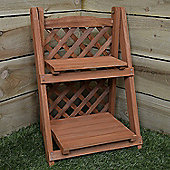 Greenblade Wooden 2 Shelf Planter