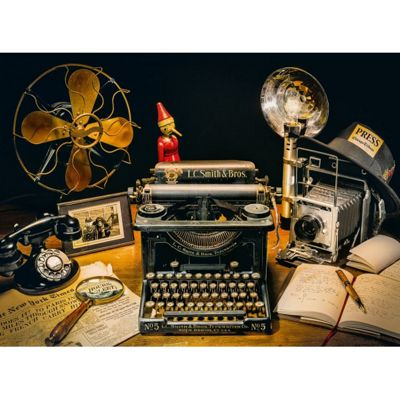 The Typewriter - 500pc Puzzle