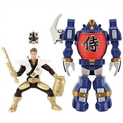 Power Rangers Super Samurai LightZord and Gold Super Mega Ranger