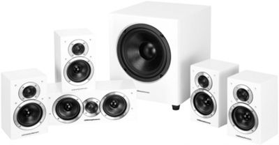 Wharfedale DX1SE 5.1 Home Cinema Speaker System (Gloss white)
