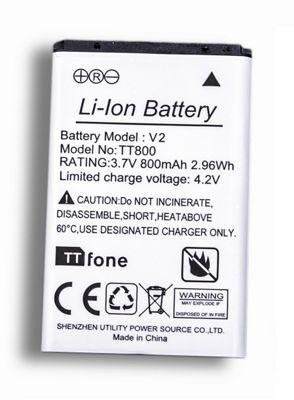 TTfone Spare Battery for TTfone Big Button Mobile Phones BL5C
