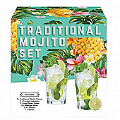 Vintage Kitchen Company Mojito Cocktail Glasses Gift Set - Pack of 2