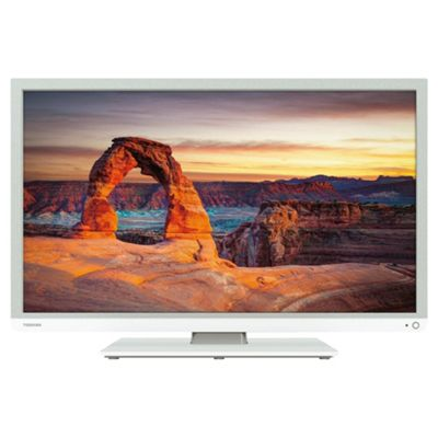 Toshiba 32D1334B 32 Inch HD Ready 720p LED TV / DVD Combi With Freeview - White