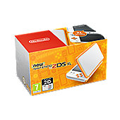New Nintendo 2DS XL HW White and Orange
