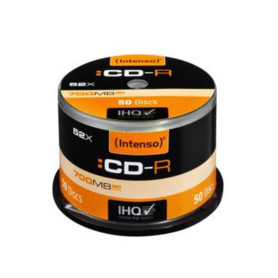 Intenso CD-R Cakebox 700MB 52x (50 Pack)