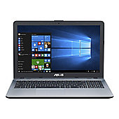 "Asus-X541SA-XX012T 15.6"" Laptop with Windows 10, 4GB RAM and 1TB Storage in Silver"