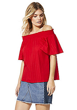 F&F Bardot Top - Red